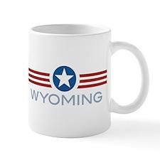 Star Stripes Wyoming Mug