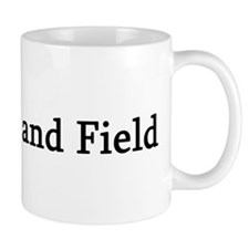 I Love Track and Field Mug