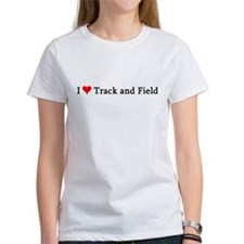 I Love Track and Field Tee
