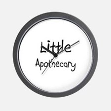 Little Apothecary Wall Clock
