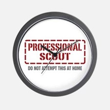 Professional Scout Wall Clock