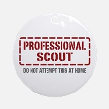 Professional Scout Ornament (Round)