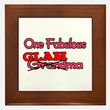 Fabulous Glamma Framed Tile