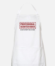 Professional Scooter Rider BBQ Apron