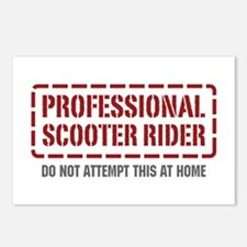 Professional Scooter Rider Postcards (Package of 8