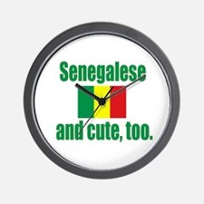 Cute Senegalese Wall Clock