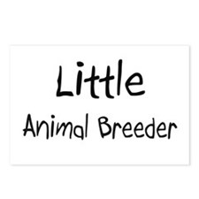 Little Animal Breeder Postcards (Package of 8)