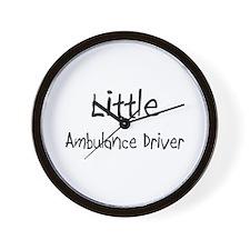 Little Ambulance Driver Wall Clock