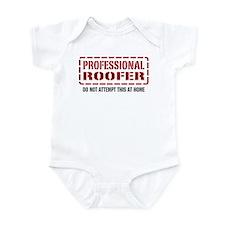 Professional Roofer Infant Bodysuit
