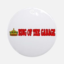 King Of The Garage Ornament (Round)