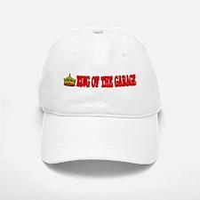 King Of The Garage Baseball Baseball Cap