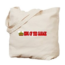 King Of The Garage Tote Bag