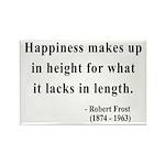 Robert Frost 4 Rectangle Magnet