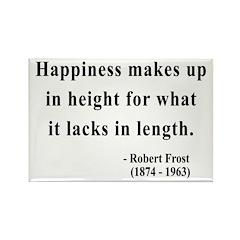 Robert Frost 4 Rectangle Magnet (10 pack)