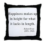 Robert Frost 4 Throw Pillow