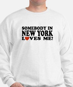 Somebody in New York Loves Me! Sweater