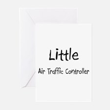 Little Air Traffic Controller Greeting Cards (Pk o