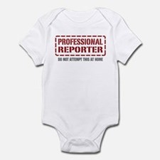 Professional Reporter Infant Bodysuit