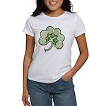 Irish Shamrock Spiral Women's T-Shirt