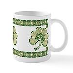 Irish Shamrock Spiral Design #2 Mug