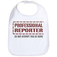 Professional Reporter Bib