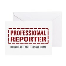 Professional Reporter Greeting Cards (Pk of 10)