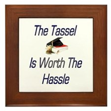Tassel Worth Hassel Framed Tile