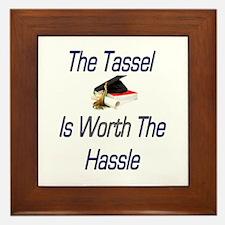 Tassel Worth Hassel Framed Tile