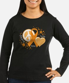 Leukemia Orange P T-Shirt
