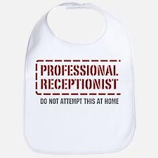 Professional Receptionist Bib