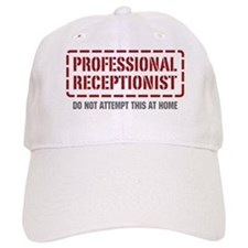 Professional Receptionist Baseball Baseball Cap