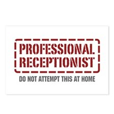 Professional Receptionist Postcards (Package of 8)