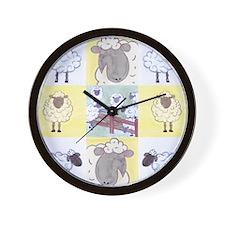 Funny Vegeterian Wall Clock