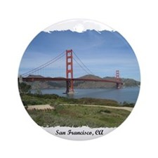 San Francisco, CA Ornament (Round)