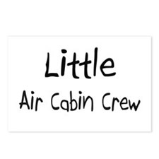 Little Air Cabin Crew Postcards (Package of 8)