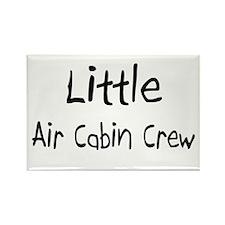 Little Air Cabin Crew Rectangle Magnet