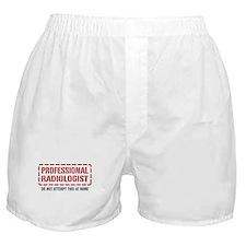 Professional Radiologist Boxer Shorts