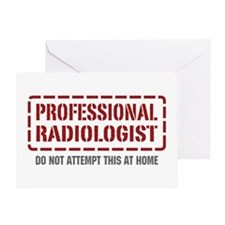 Professional Radiologist Greeting Card