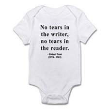 Robert Frost 3 Infant Bodysuit