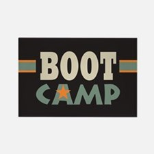 Military Boot Camp Rectangle Magnet (10 pack)