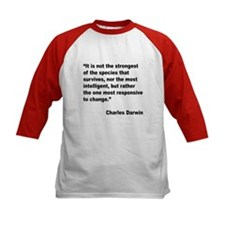 Darwin Survival Quote (Front) Tee