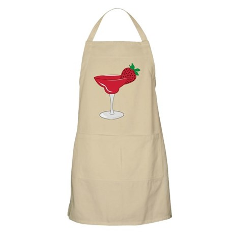Strawberry Margarita BBQ Apron