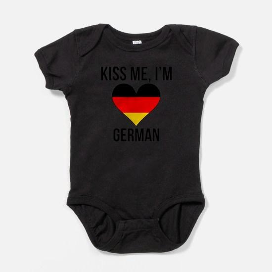 Kiss Me Im German Body Suit