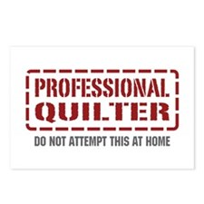 Professional Quilter Postcards (Package of 8)