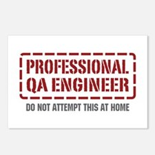 Professional QA Engineer Postcards (Package of 8)