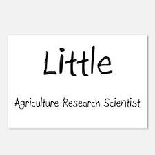 Little Agriculture Research Scientist Postcards (P