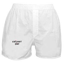 Cricket Boxer Shorts