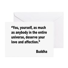 Buddha Love Quote Greeting Cards (Pk of 20)