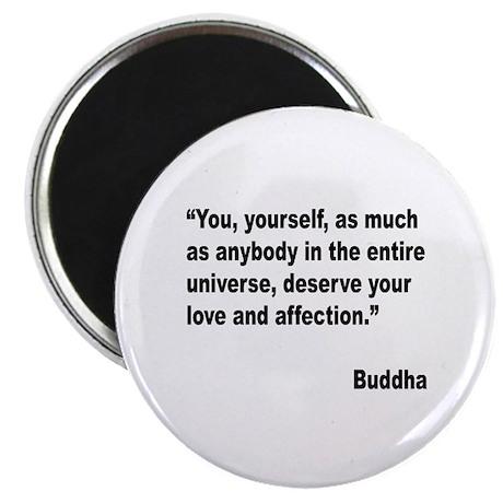 Buddha Love Quote Magnet