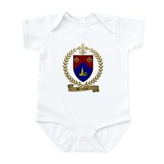 BROCHU Family Crest Infant Creeper